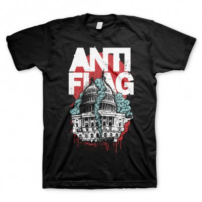 Anti-Flag - Washington DC Black | T-Shirt