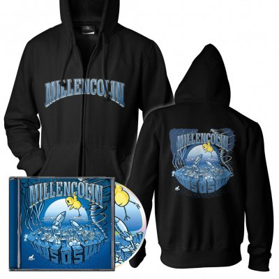 Millencolin - SOS | CD+Zip-Hood Bundle