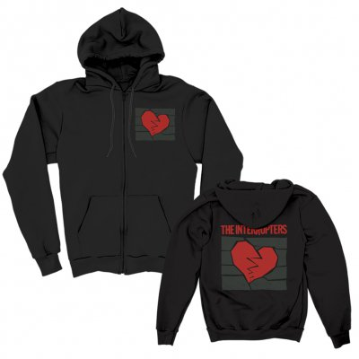 The Interrupters - Broken Heart Black | Zip-Hood
