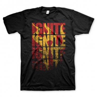 Ignite - Wall Black | T-Shirt
