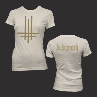 behemoth - Tri Cross | Girl Fitted T-Shirt