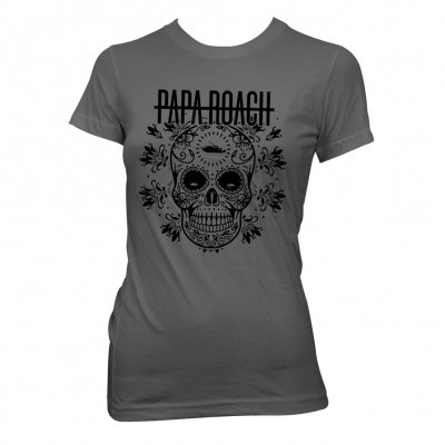 papa-roach - Dia De La Roach | Girl Fitted T-Shirt