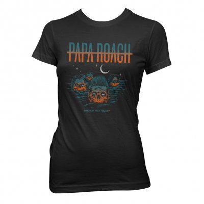 Papa Roach - Drowning WDYT | Girl Fitted T-Shirt