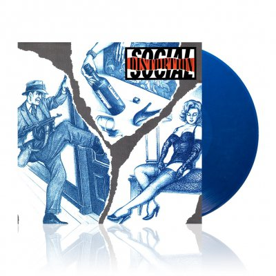 social-distortion - s/t  | Swirl Blue/Silver Vinyl