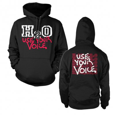 h2o - Use Your Voice | Hoodie