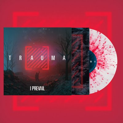 I Prevail - Trauma | Ultra Clear /w Neon Magenta Splatter Viny