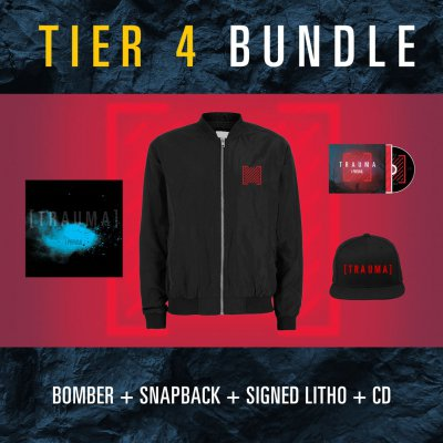 I Prevail - Trauma | CD + Jacket + Snapback + Litho Bundle