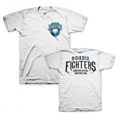 Nordic Fighters White | T-Shirt