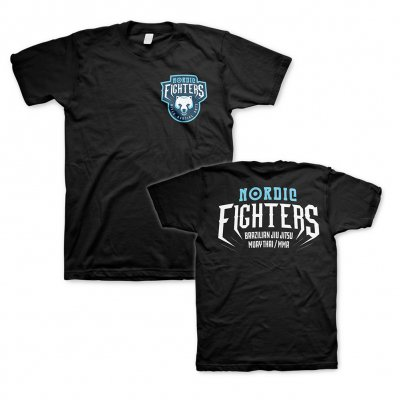 VClothing - Nordic Fighters Black | T-Shirt