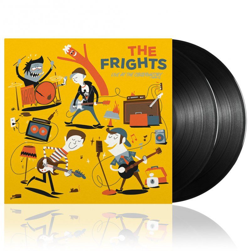 The Frights - Live At The Observatory| 2xBlack Vinyl