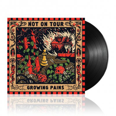 Not On Tour - Growing Pains | Black Vinyl