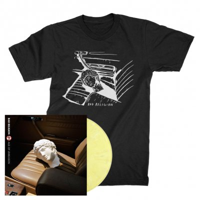 Bad Religion - AOU/Car Seat | Yellow Mix Vinyl+Shirt Bundle