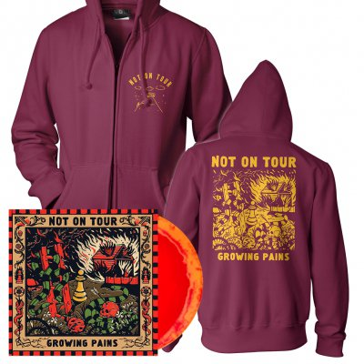 Not On Tour - Growing Pains | Colored Vinyl + Zip-Hood Bundle