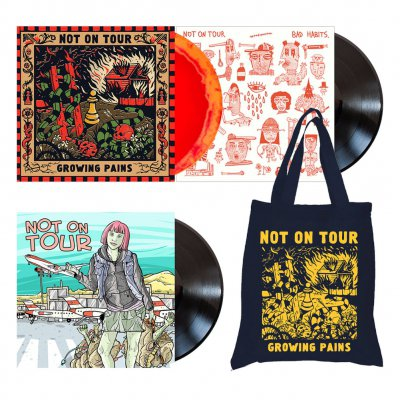 Not On Tour - Music Lover | Vinyl + Tote Bag Bundle