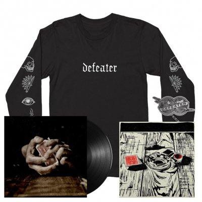 Defeater - Defeater   Print+Black Vinyl+Longsleeve Bundle