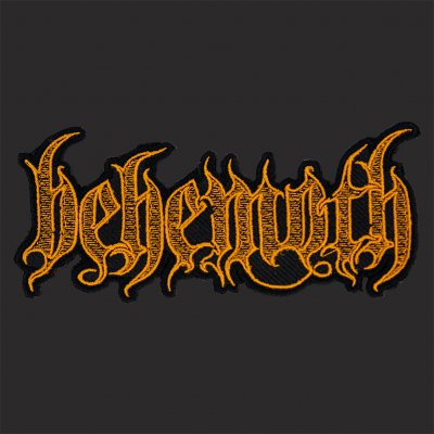 behemoth - Logo Gold | Patch