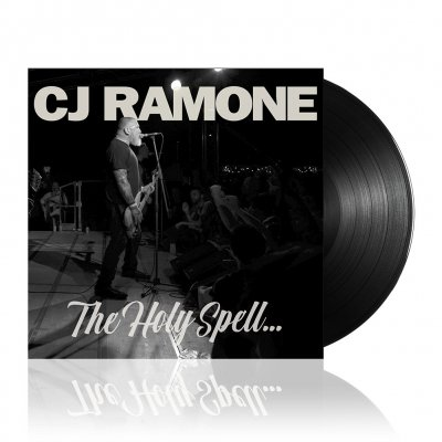 CJ Ramone - The Holy Spell | Black Vinyl