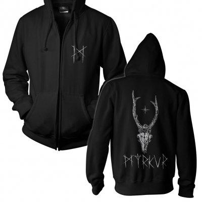 Myrkur - Deer Skull | Zip Hood