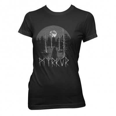 Towards The Forest | Girl-Fitted T-Shirt