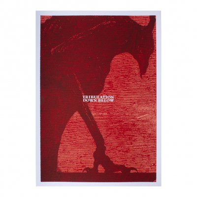 tribulation - Down Below | Screen Print Poster
