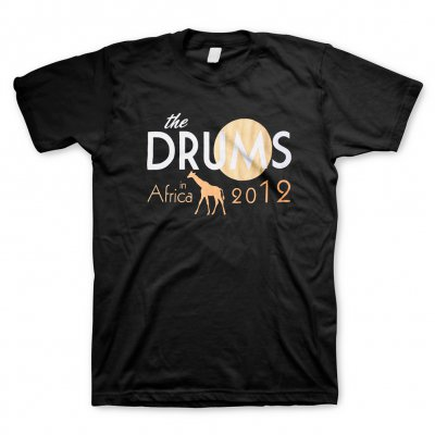 The Drums - In Africa 2012 | T-Shirt