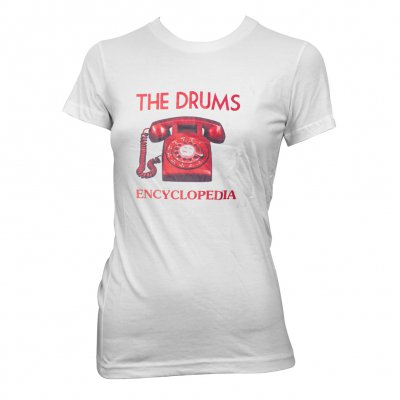 the-drums - Red Telephone | Fitted Girl T-Shirt