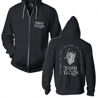 brian-fallon - Heart | Zip Hood