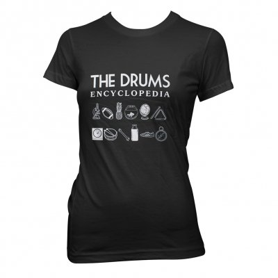 The Drums - Encyclopedia | Fitted Girl T-Shirt