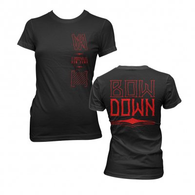 i-prevail - Bow Down | Fitted Girl T-Shirt