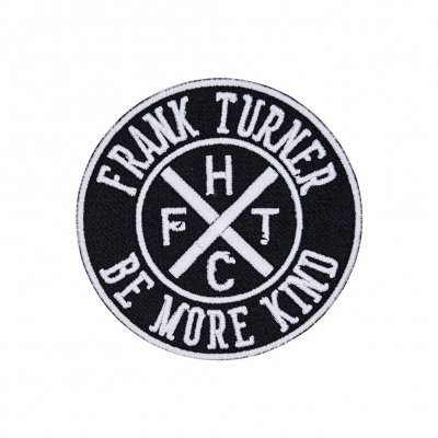 frank-turner - Be More Kind Logo | Patch