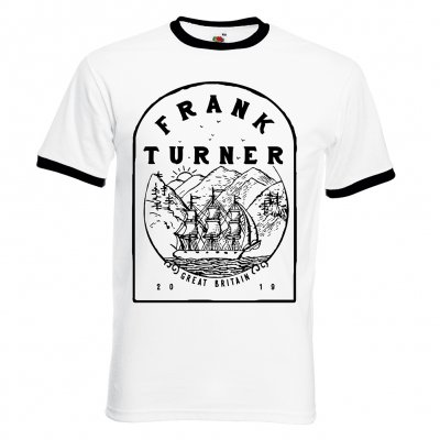 frank-turner - Ship Mountain | Ringer T-Shirt