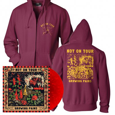 Not On Tour - Growing Pains | Colored Vinyl + Zip-Hood Bundle
