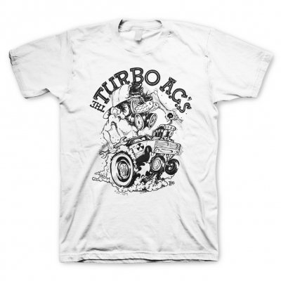 The Turbo A.C.'s - Rad Fink White | T-Shirt