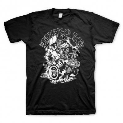 The Turbo A.C.'s - Rad Fink Black | T-Shirt