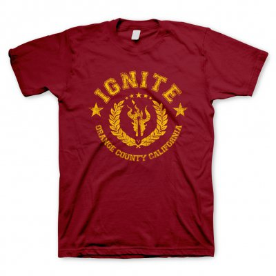 ignite - College Cardinal | T-Shirt