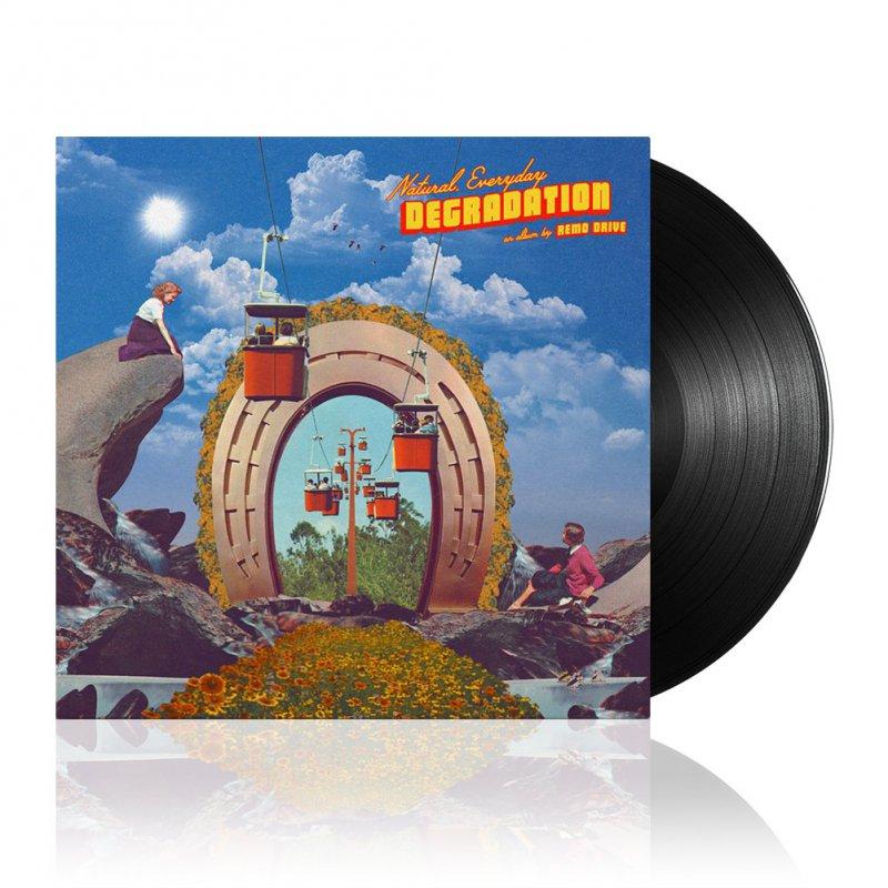 Remo Drive - Natural, Everyday Degradation | Black Vinyl