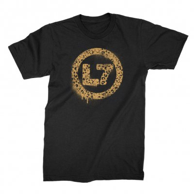 L7 - Leopard Spray Logo | T-Shirt