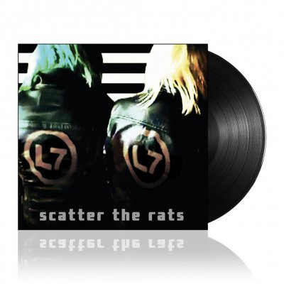 L7 - Scatter The Rats | Black Vinyl