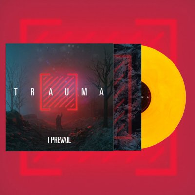 I Prevail - Trauma | Trans Yellow Orange Galaxy Vinyl