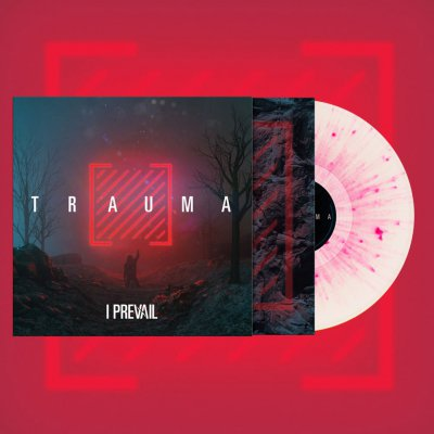 shop - Trauma | Ultra Clear /w Neon Magenta Splatter Viny