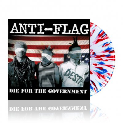 anti-flag - Die For The Government | Splatter Vinyl