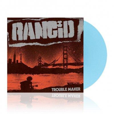 Rancid - Trouble Maker | Light Blue Vinyl+7Inch
