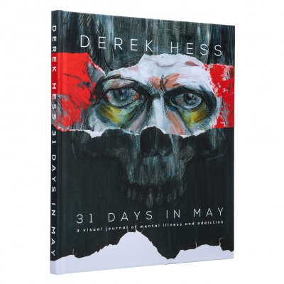 derek-hess - 31 Days In May | Book