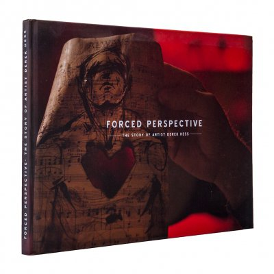 derek-hess - Forced Perspective | Book
