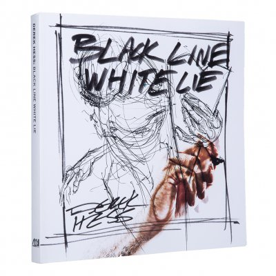 derek-hess - Black Line White Lie | Book