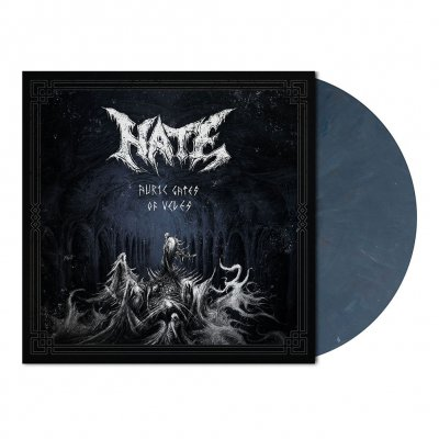 Hate - Auric Gates Of Veles | Slate Blue Marbled Vinyl
