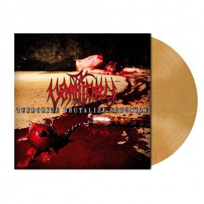 shop - Terrorize Brutalize Sodomize | Ocher Marbled Vinyl