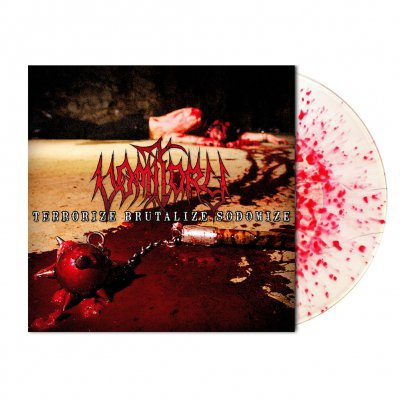 shop - Terrorize Brutalize Sodomize | Blood Splatter Viny