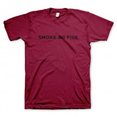 Smoke Or Fire - Logo | T-Shirt