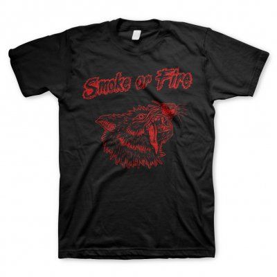 smoke-or-fire - Wolf Red | T-Shirt